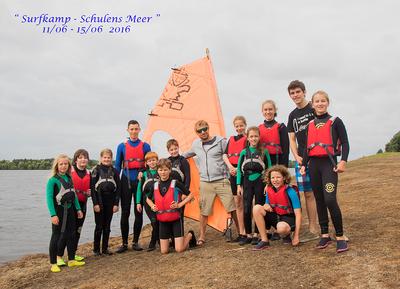Surf- en zeilkampen 2016