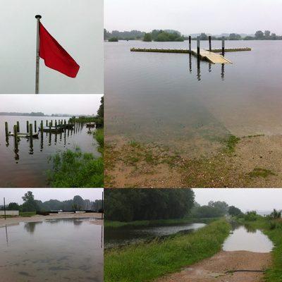 Overstromingen - alle activiteiten tot en met 26 juni afgelast!