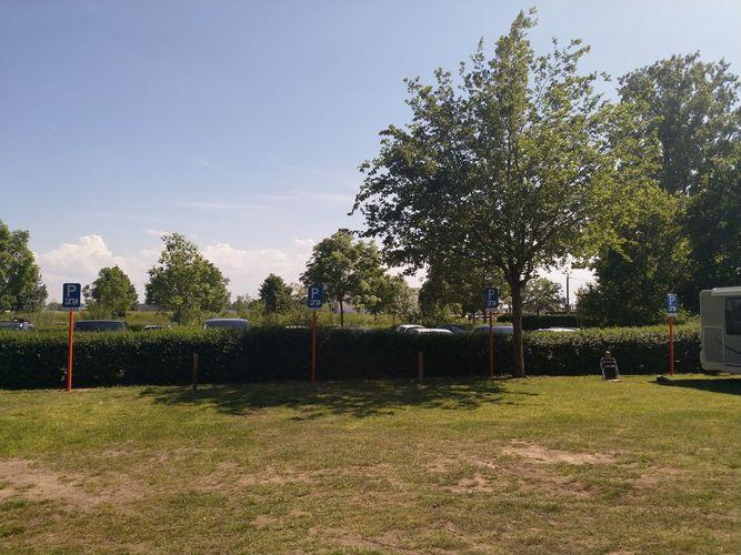 Nieuwe camperparking Schulensmeer