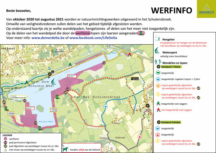 Herinrichtingswerken van start op 1 oktober | UPDATE