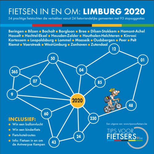 Fietsparadijs Limburg en omstreken